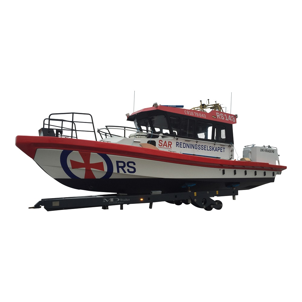 Hydraulvagn sjöräddninen 17t